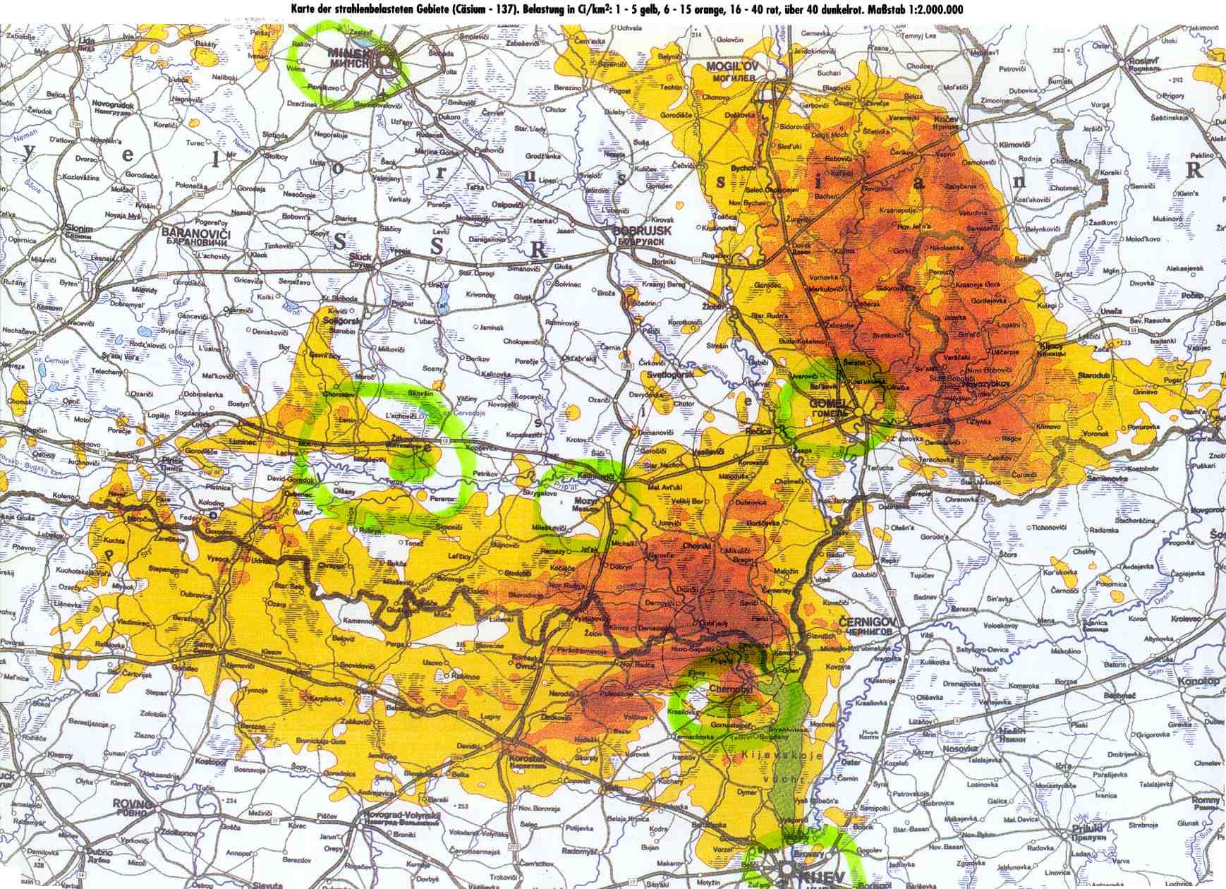 Wolke Tschernobyl Karte.Unbenanntes Dokument